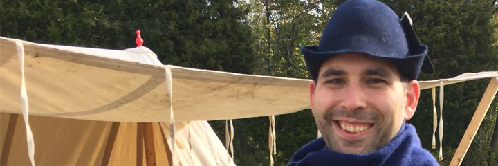 Banner image of face for the Medieval Reenactment and Living History Resource The Turnip of Terror