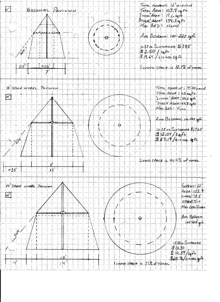 Tent Drawings 1