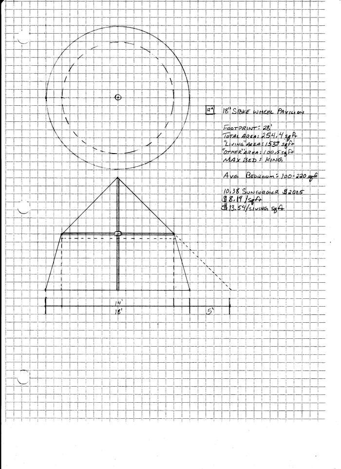 Tent Drawings 3