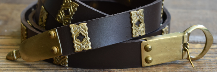 Features Image Belt for the Medieval Reenactment and Living History Resource The Turnip of Terror