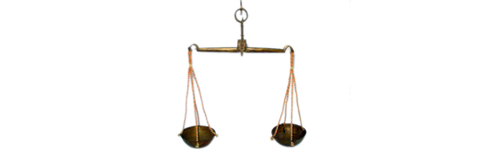Stock Image of Balance Scales for the Medieval Reenactment and Living History Resource The Turnip of Terror