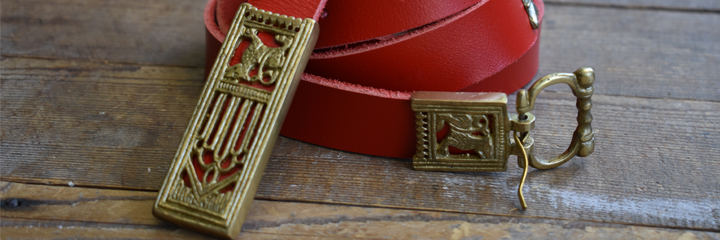 Featured Image - Red Wolf Belt