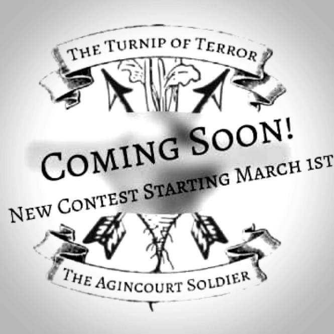 Teaser for Upcoming Cooperative challenge on the Medieval Reenactment and Living History Resource The Turnip of Terror